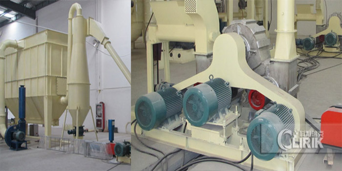 calcium carbonate powder modification machine